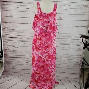 Jessica Howard Hawaiian floral maxi dress